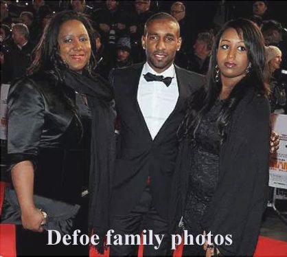 Jermain Defoe family