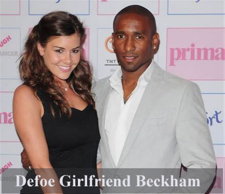 Jermain Defoe girlfriend