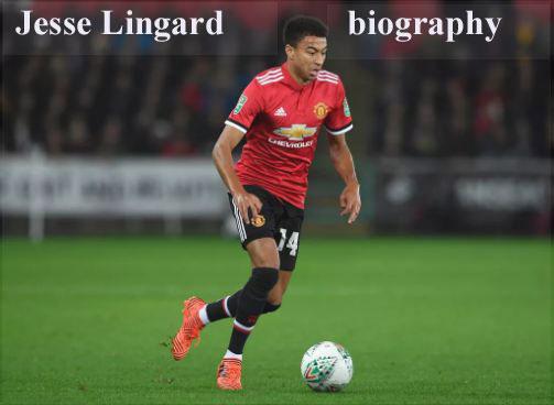 Jesse Lingard biography