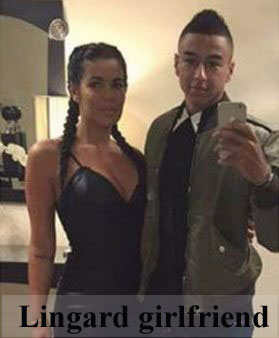 Jesse Lingard girlfriend