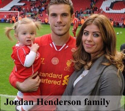 Jordan Henderson family