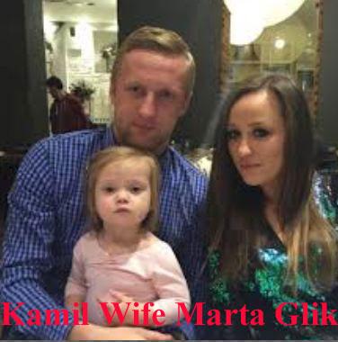 Kamil Glik wife