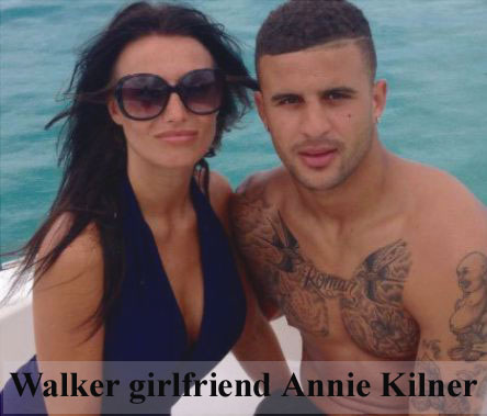 Kyle Walker girlfriend