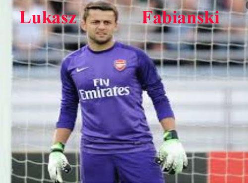 Lukasz Fabianski profile height, wife, family, FIFA 18 and club career