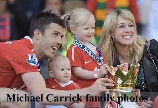 Michael Carrick family