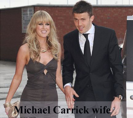 Michael Carrick wife