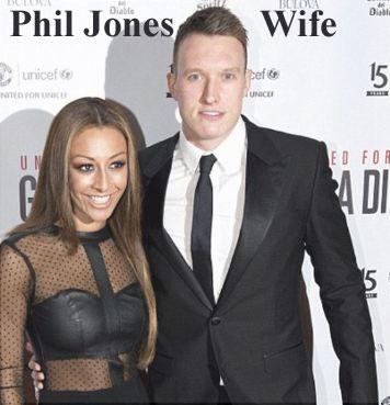 Phil Jones wife