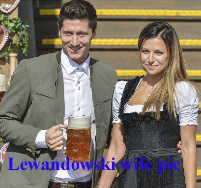 Robert Lewandowski wife