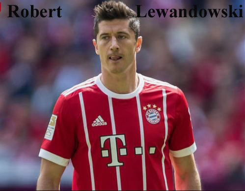 Robert Lewandowski player, height, wife, family, profile and club career