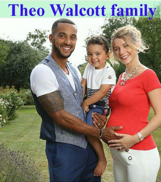 Theo Walcott family