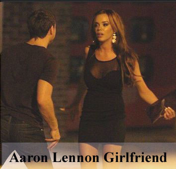 Aaron Lennon girlfriend