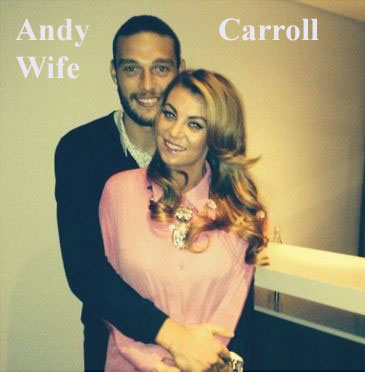 Andy Carroll wife