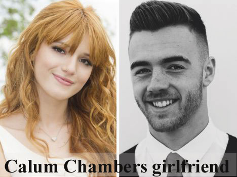 Calum Chambers girlfriend