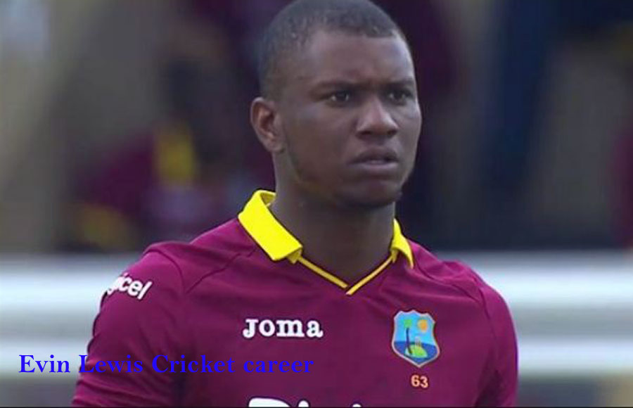 Evin Lewis Cricketer, Batting career, IPL, family, wife and so