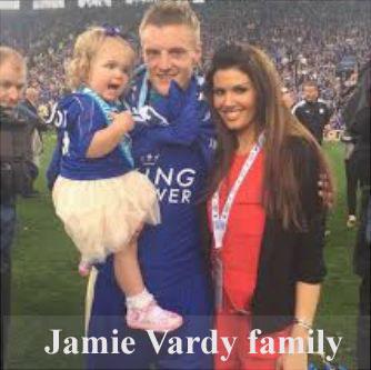 Jamie Vardy family