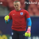 Jordan Pickford profile, height, wife, Removal family, and club career