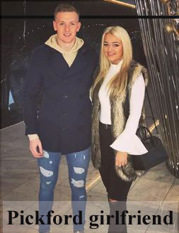 Jordan Pickford girlfriend