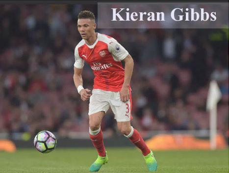 Kieran Gibbs footbaler