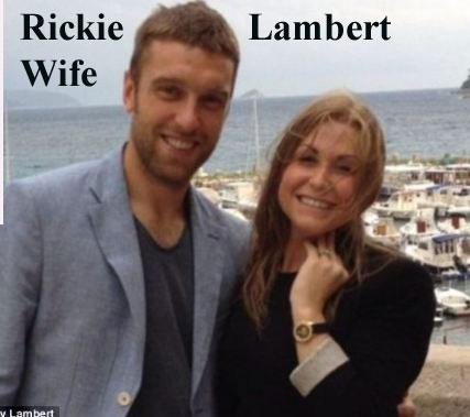 Rickie Lambert wife