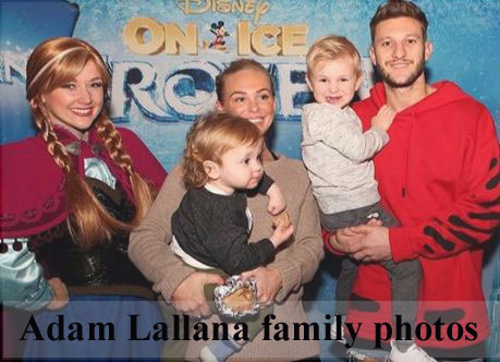 Adam Lallana family
