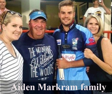 Aiden Markram family