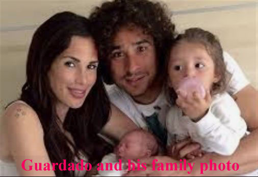 Andrés Guardado with cute, friendly, kind, Wife Briana Guardado