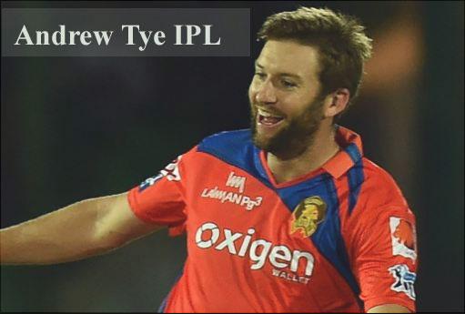 Andrew Tye IPL