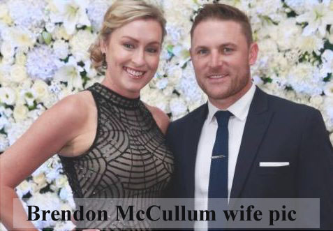 Brendon McCullum wife