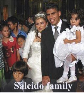 Carlos Salcido family