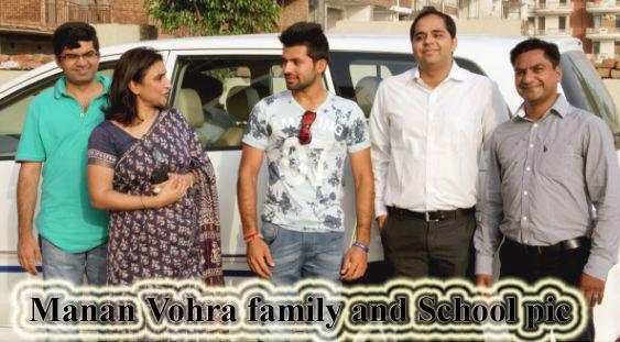 Manan Vohra family