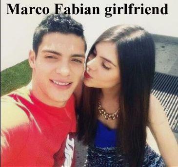 Marco Fabian girlfriend