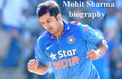 Mohit Sharma cricketer