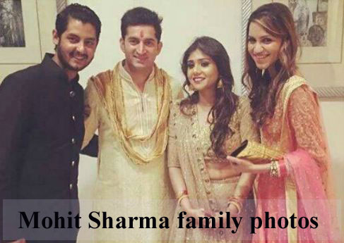 Mohit Sharma family