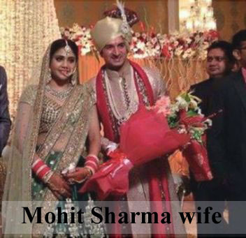 Mohit Sharma wife