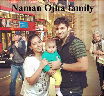 Naman Ojha family