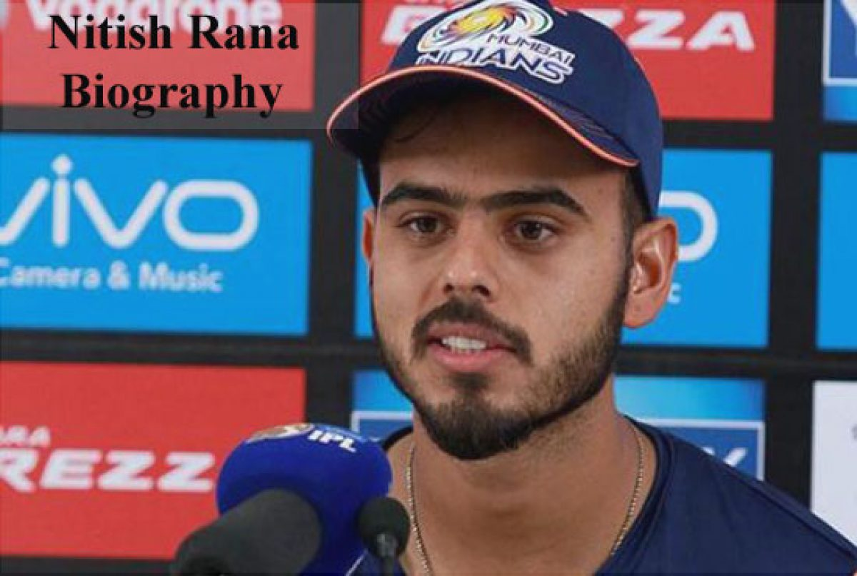 Nitish Rana Cricketer Ipl Wife Family Age Biography