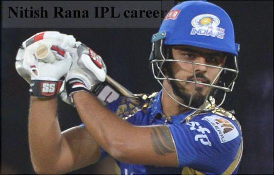 Nitish Rana IPL