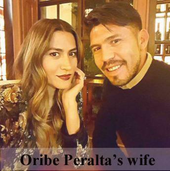Oribe Peralta wife