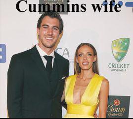 Pat Cummins wife