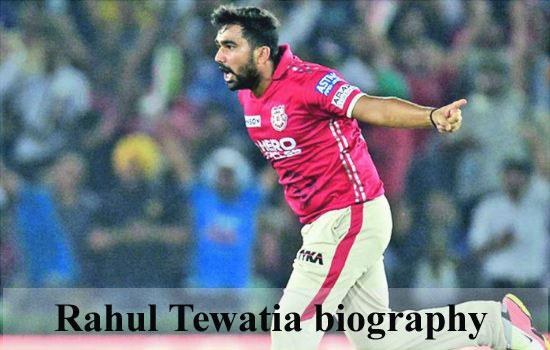 Rahul Tewatia IPL