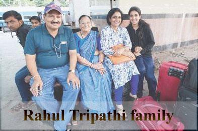 Rahul Tripathi family