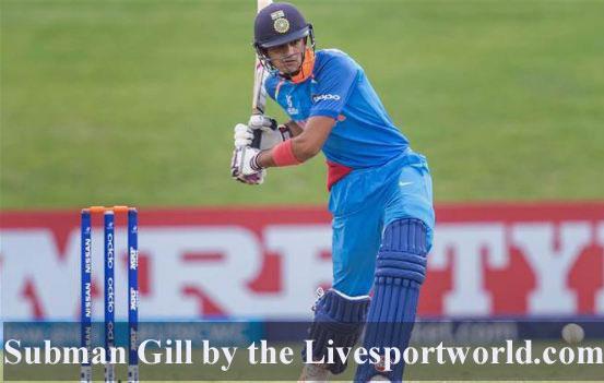 Shubman Gill cricketer