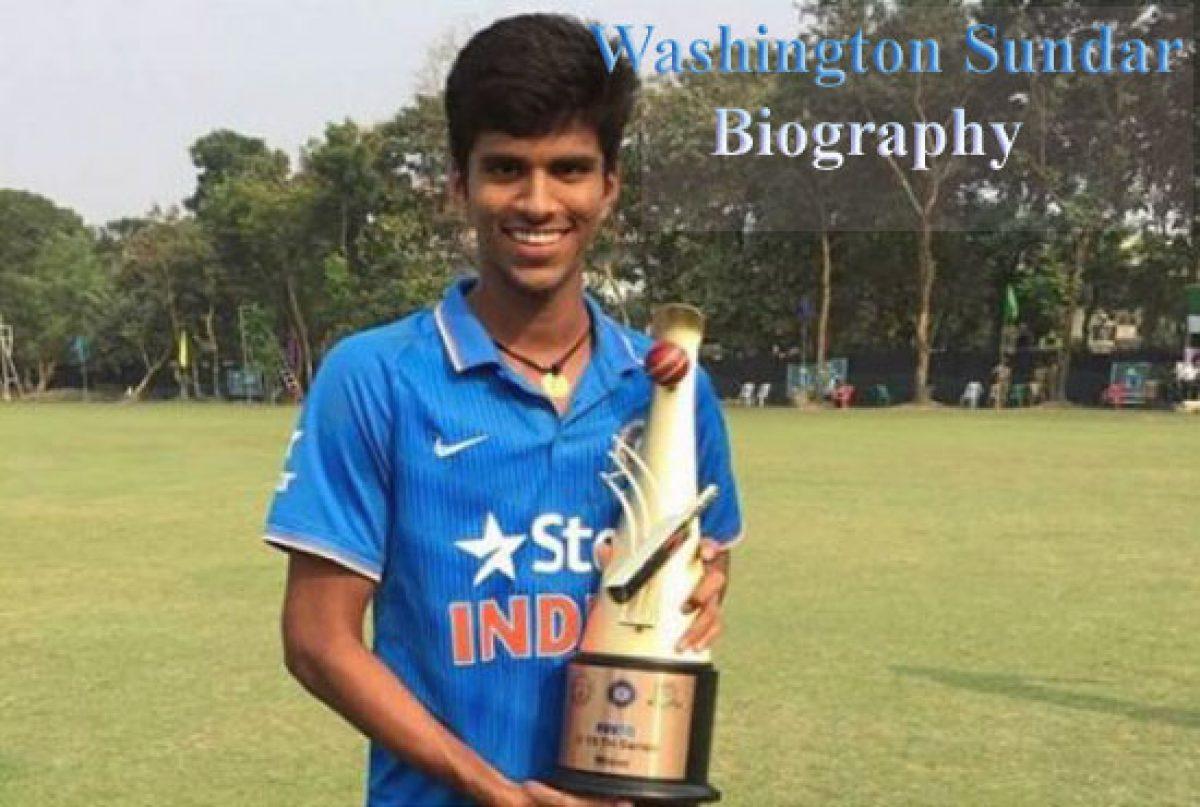 Washington Sundar Cricketer Batting Wife Family Age Height Ipl And So