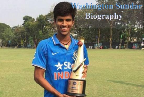Washington Sundar Cricketer, Batting, IPL, wife, family, age, height and more