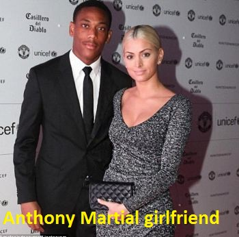 Anthony Martial girlfriend