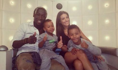 Bacary Sagna's family