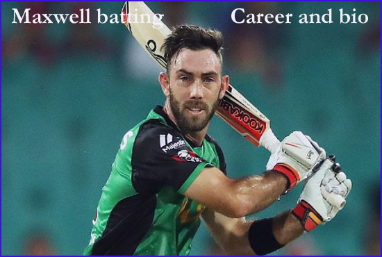Glenn Maxwell batting, age, house, Ipl, batting, wife, family, and more