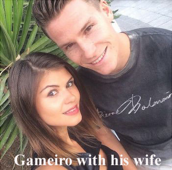 Kevin Gameiro wife her name