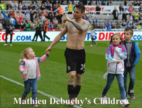 Mathieu Debuchy children