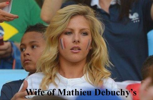 Mathieu Debuchy's wife Ludivine